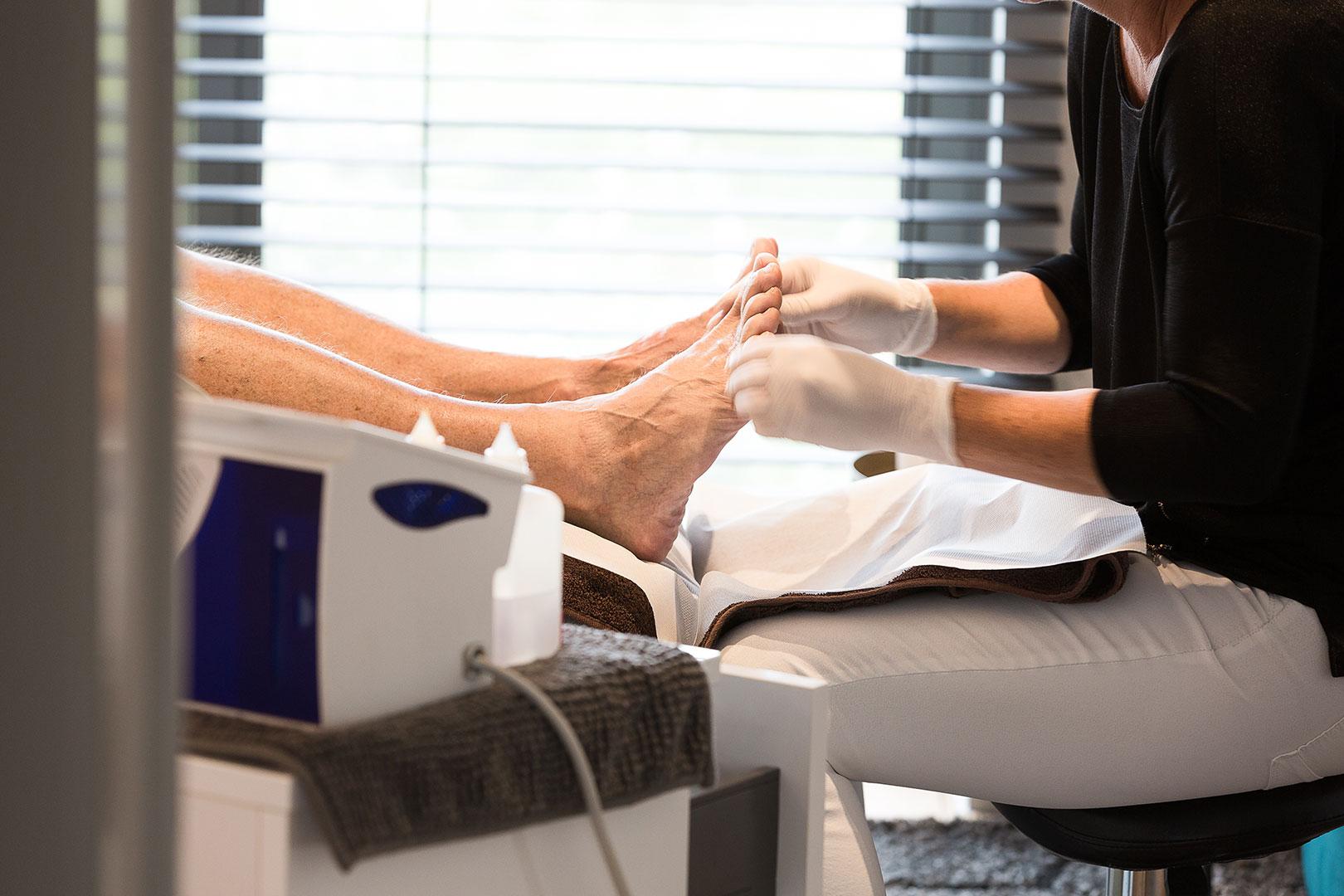 Het Stille Seizoen - Behandelingen - Handen en voeten - Pedicure