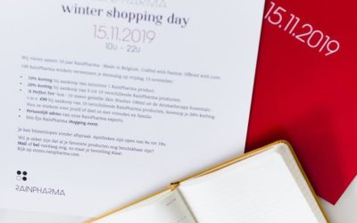 15.11.2019 Rainpharma Winter Shopping Day: 20% korting op Rainpharma.
